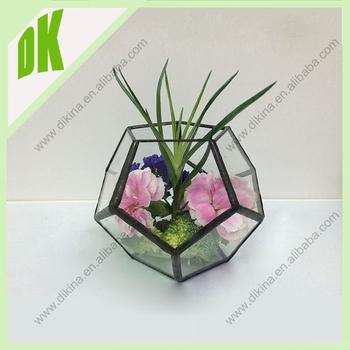 Rectangular Glass Vase For Flower Arrangement For Plants Flower