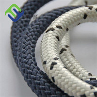 Double braided nylon rope 30mm tow rope hot sale