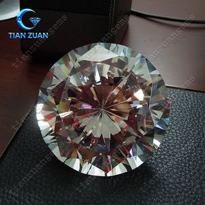 60mm Big White Round Synthetic Diamond Cubic Zirconia CZ stone