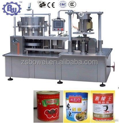 Widely Use CE Automatic Piston Tomato Paste Canning Machine,Filling Machine