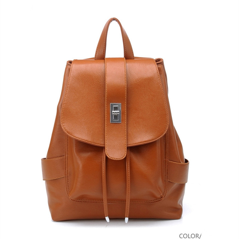 Fashion bag women PU leather backpack girls backpack for teenage girls school bags for teenagers women backpack fashion girl bag
