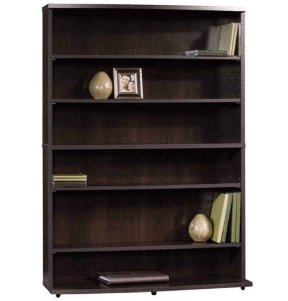Get Quotations · Hermes2shop Storage Multimedia Tower Rack CD DVD Media  Holder Shelf Cabinet Wall Stand Brown