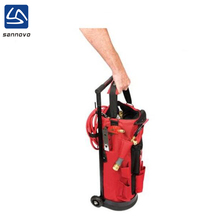 China factory new product red portable tool bag trolley, rolling tool bag