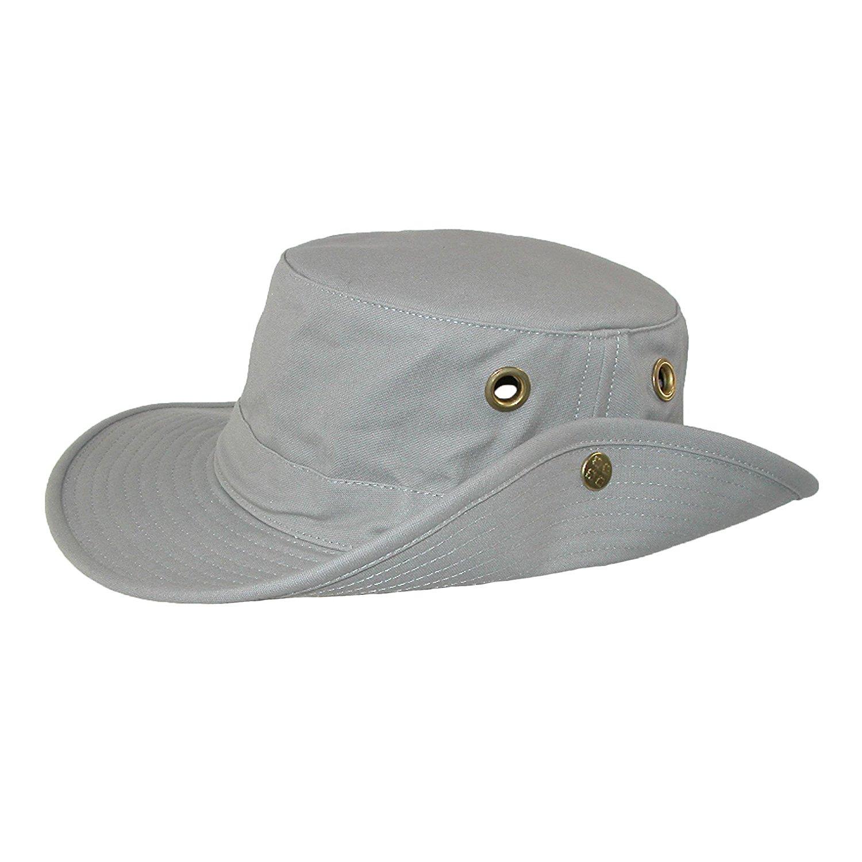 1a141099bab16 Get Quotations · Tilley T3 Snap-Up Hat - Khaki 7-1 2