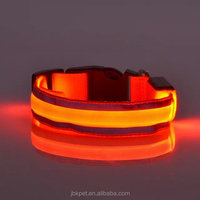 Best selling products LED dog collars for dogs puppies create your own brand LED dog cat collars