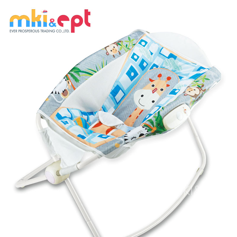 Newborn Cradle Metal Foldable Baby Electric Swing Bed For Infant