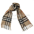 fashion top sale high quality scarf check khaki scarves