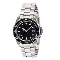 5atm waterproof classic mechanical watch with fashion style