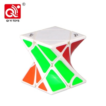 Mofangge smooth lines twist puzzle colorful intelligence cube with OEM feature