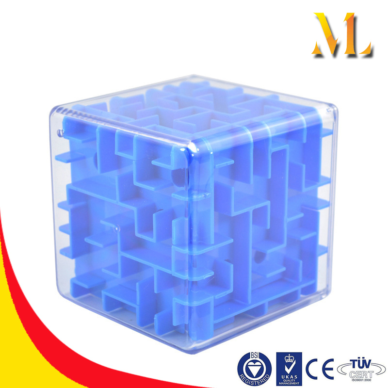 3D maze Mini Speed Cube Labyrinth Rolling Ball Toys Puzzle Game Cubos Magicos Learning Toys For Children
