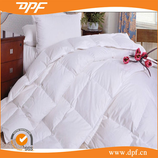 High quality luxury white duck down comforter wholesale