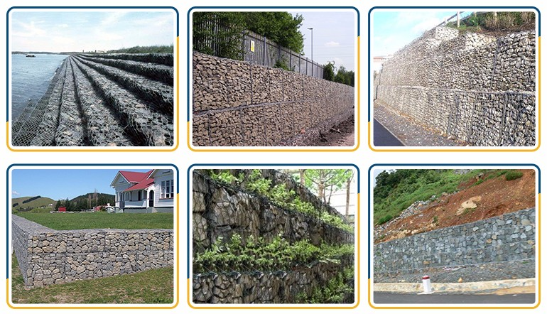 Gabion Retaining Wall Design Guide Cage Fences For Garden Stone