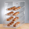 customized candy countertop display case, hot sale countertop bakery acrylic showcase with drawers