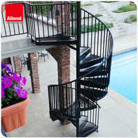 external staircase design helical staircase spiral staircase cast iron