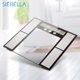 Smart BMI 12 person memory function electronic measure body fat weighing digital analyzer scale