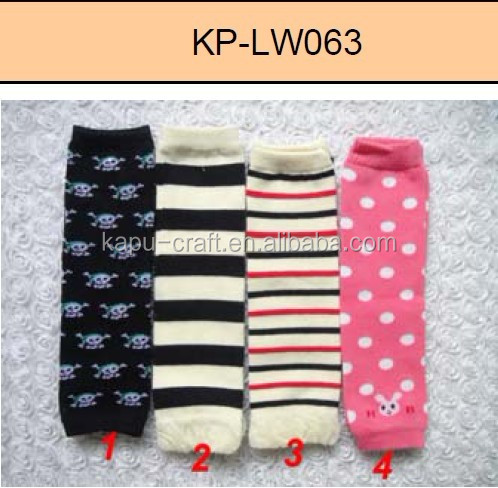 Low Price many design cotton children's leg warmer in stock