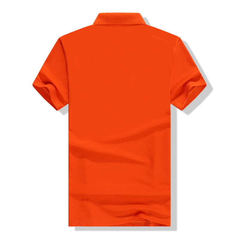 Slim pique short sleeve plain blank polo t shirt for men