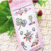 DIY Handmade Craft Materials for Girls Decorative Funny Toys Colored Mosaic Diamonds Stickers