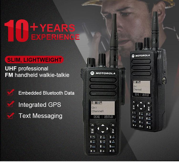 CE Walkie Talkie Motorola Bluetooth Motorola XIR P8668I IP67 GPS XIR P8668 radios walkie talkies