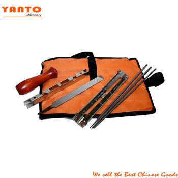 chainsaw chain sharpening kit tool set guide bar file sharpener ...