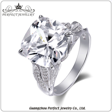 Wholesale factory price letest design 925 sterling silver fashion women zircon ring for gift