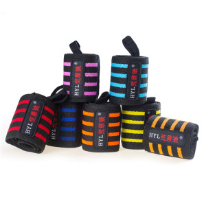 HYL-2633 Gym weightlifting relief wrist straps with low price