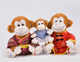 hot sale plush stuffed monkey toy with Tangsuit,plush stuffed cloth monkey doll