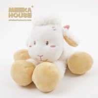 MEEKA HOUSE Sheep Meeka baby soft cuddly toy for 0-6 years old Children Cuddle Infant toy