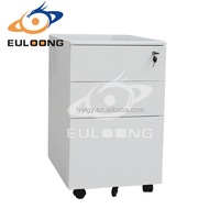 Modern office furniture Steel metal mobile file/drawer filing cabinet/Yulong profession Office furniture
