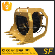 12t exacavtor grid screen bucket rotating bucket