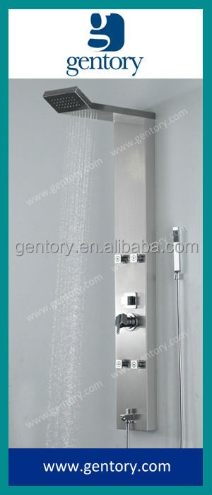 2015 CE cUPC Gentory Sanitary Ware bantroom product Shower Screen Shower panel SA105