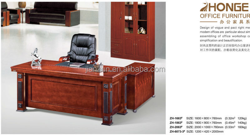 executive wooden director office table design