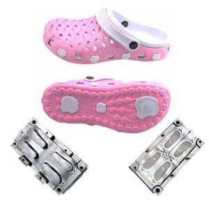 Factory Price Double Color Eva Shoe Mold For Child Crocs Shoes