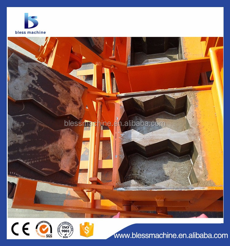 1950pcs/8 hours clay brick making machine price in india with lifetime technical service
