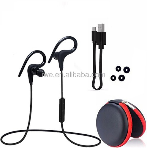 High Quality <strong>Bluetooth</strong> Wireless Earbuds Sport Earhook <strong>Bluetooth</strong> 4.1 Wireless Earphones