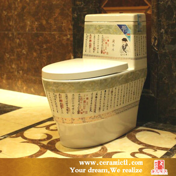 Chinese Style Hand Paint Toilet - Buy India Style Toilet,Eastern ...