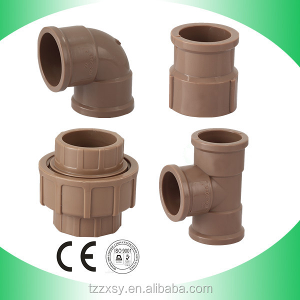 Pvc fittings inch degree elbow for