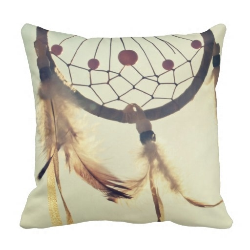 Popular Tribal Hipster Dream Catcher Throw Pillow Case (Size: 20