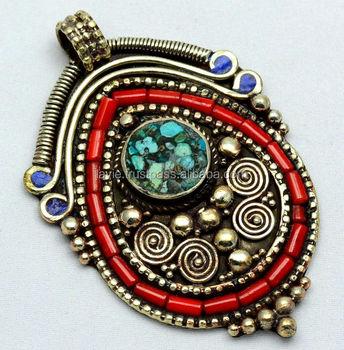 New stylish vintage tibetan pendant for womenswedding jewelry buy new stylish vintage tibetan pendant for womens wedding jewelry aloadofball Images
