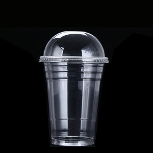 ZFCUP 16 oz. Biodegradable Recycle Disposable Clear Plastic Cups