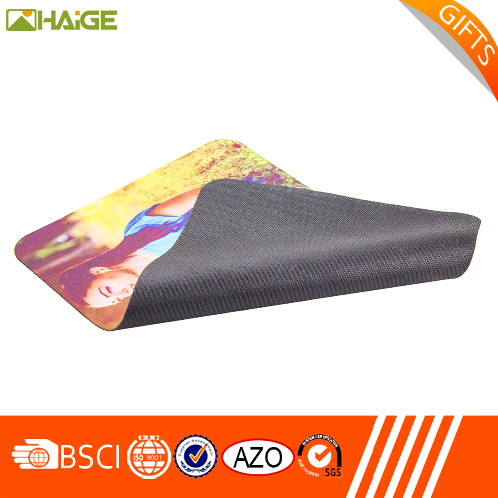 Factory Supplier OEM Wipe Mouse pad with customized logo printing