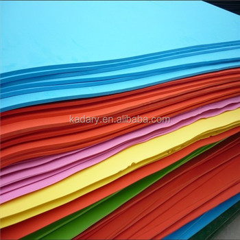 Colorful eva foam craft sheet buy ethylene vinyl acetate for Soft foam sheets craft