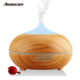 Ultrasonic Humidifier Type and UR,GS,CE,RoHS,FCC,UL Certification USB 300ml Wood Grain Essential Oil Aroma Diffuser