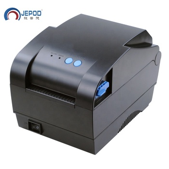 Selection!JEPOD XP-365B 20-80mm multifunctional pos thermal receipt printer office use barcode bar code label printer