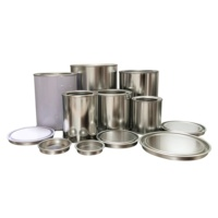 metal round paint can with lever lid tin can manufacturer wholesale