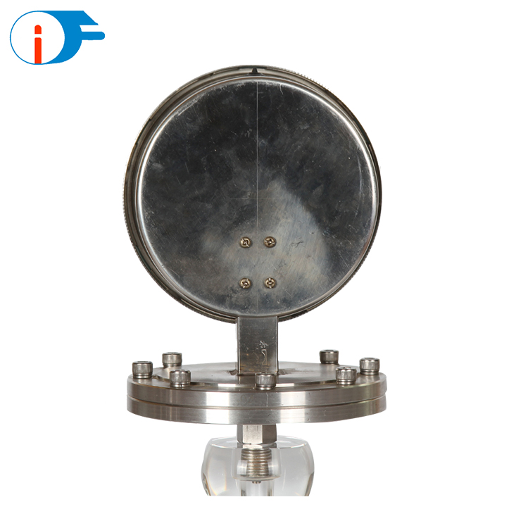 Customized Available 304 Stainless Steel Diaphragm Kpa Pressure Gauge