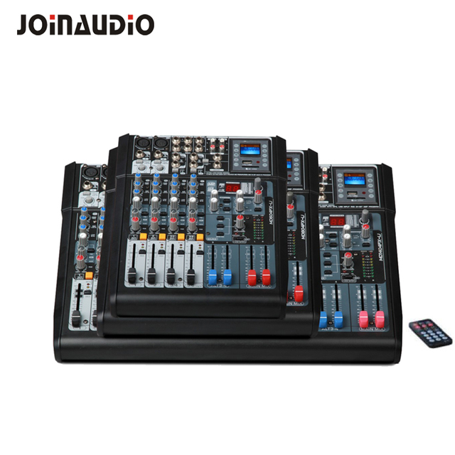 Premium 6/8/10/12/14 channels compact Audio mixer DSP mixing console USB for recording DJ stage with 1 year warranty