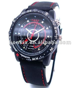 Waterproof Wrist Hidden Camera Watch with Motion Detection Function