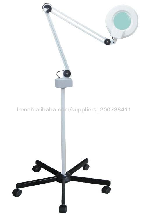 Meilleur lampe loupe esthétique avec support de roue 5 Lampe