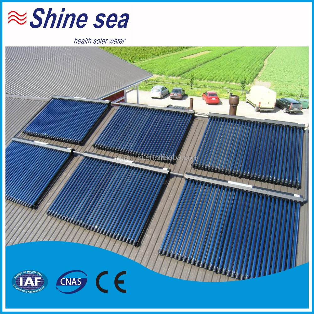 Top qualit syst me collecteur de chauffe eau solaire pour for Fourniture pour piscine